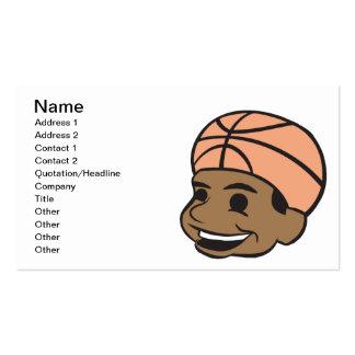 Basketball Fan Pack Of Standard Business Cards