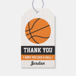 Basketball Favor Tag