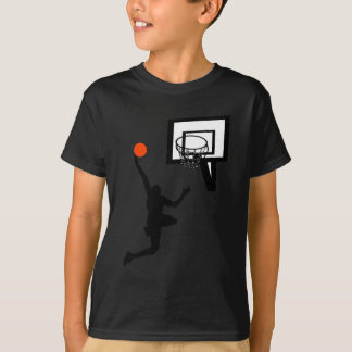 Basketball Figure Doing a Layup T-Shirt
