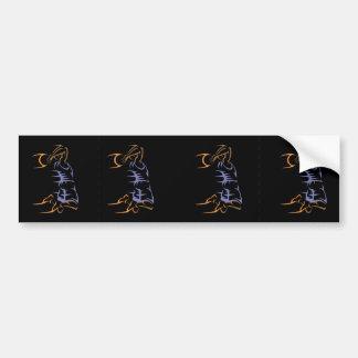 Basketball Flight Bumper Sticker