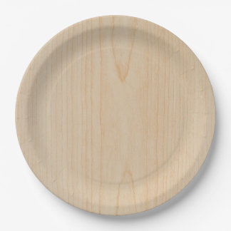basketball floor paper plate
