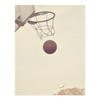 Basketball 21.5 Cm X 28 Cm Flyer