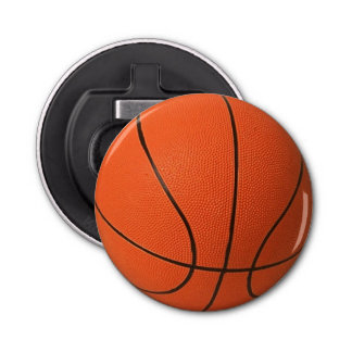 Basketball Fridge Magnet Bottle Opener
