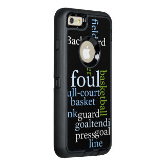 Basketball full court Custom OtterBox Apple iPhone