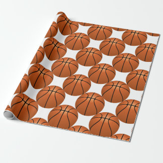 Basketball Fun Wrapping Paper