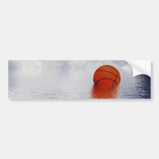 Basketball Game Called 'Cos of Rain Bumper Stickers