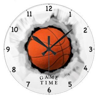 basketball game time large clock