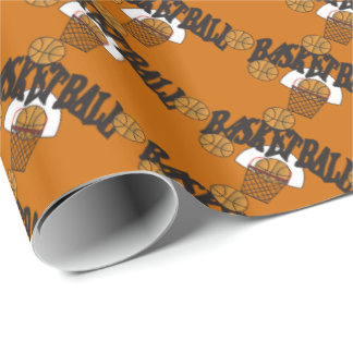 Basketball Game Wrapping Paper