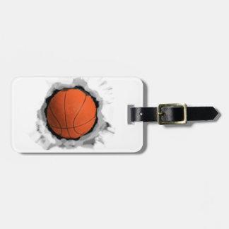 Basketball Gear Luggage Tag