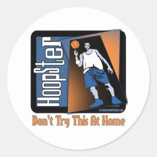 Basketball Gifts Round Sticker