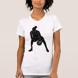 Basketball Girl Black Logo Shirt