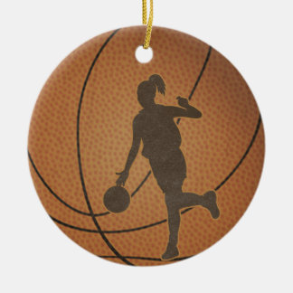 Basketball Girl Ornament