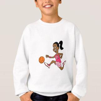 Basketball Girl Sweatshirt