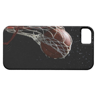 Basketball going through hoop 2 case for the iPhone 5