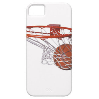 Basketball going through hoop barely there iPhone 5 case