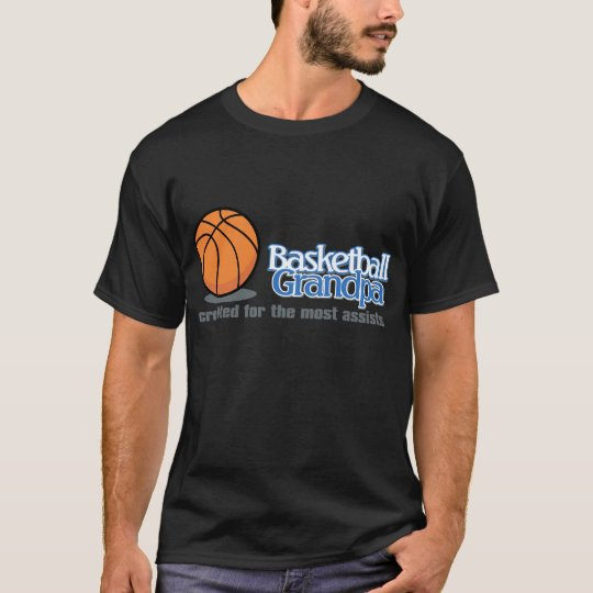 Basketball Grandpa Shirts