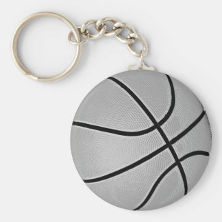 Basketball Grey / Grey Key Ring