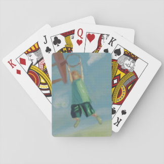 Basketball Heights, Women Playing Cards