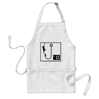 Basketball Hooked Ladies Aprons