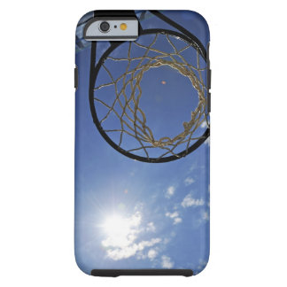 Basketball Hoop and the Sun, against blue sky Tough iPhone 6 Case