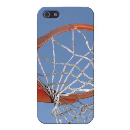 Basketball Hoop for Sports Fans iPhone 5 Covers