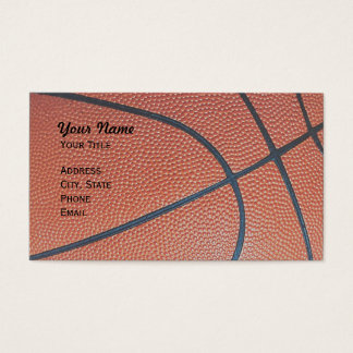 Basketball Hoop Net_texture_hoop net on black Business Card