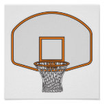 basketball hoop poster