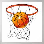 Basketball Hoop Print