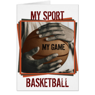 BASKETBALL HUG - MY SPORT CARD