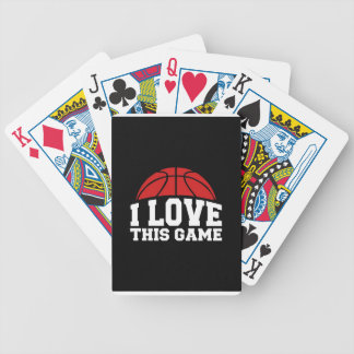 Basketball - i love this game card deck