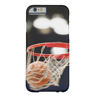 Basketball in basket. barely there iPhone 6 case