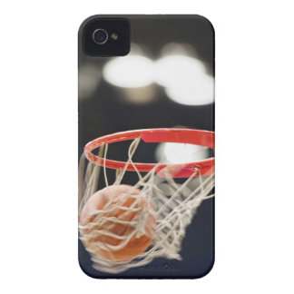 Basketball in basket. iPhone 4 case