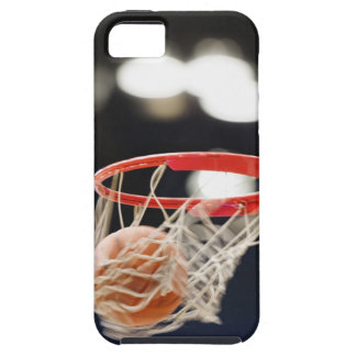 Basketball in basket. tough iPhone 5 case