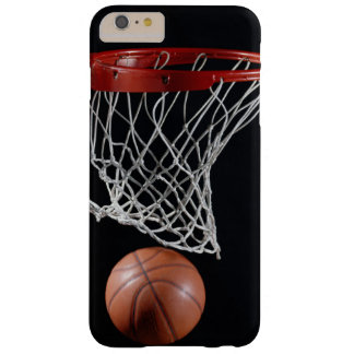 Basketball in Hoop Barely There iPhone 6 Plus Case