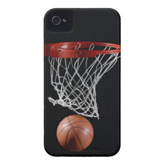 Basketball in Hoop Case-Mate iPhone 4 Cases