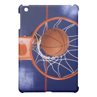 basketball in hoop iPad mini cover