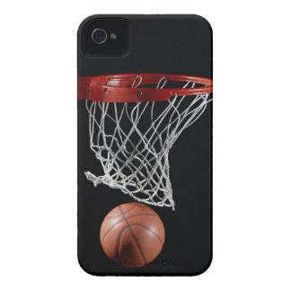 Basketball in Hoop iPhone 4 Case