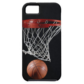 Basketball in Hoop iPhone 5 Cover