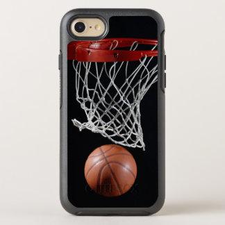 Basketball in Hoop OtterBox Symmetry iPhone 7 Case