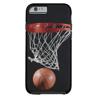 Basketball in Hoop Tough iPhone 6 Case