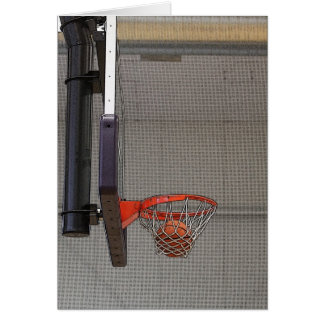 Basketball in the Net Cards