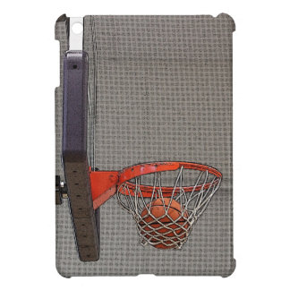 Basketball in the Net iPad Mini Cases