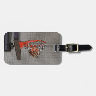 Basketball in the Net Tags For Luggage