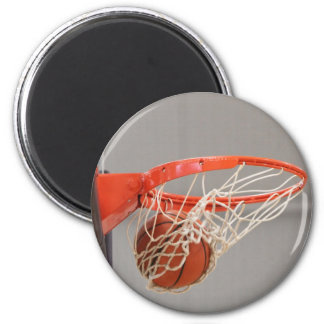 Basketball in the Net Magnet
