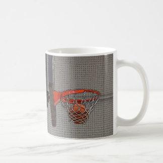 Basketball in the Net Mugs