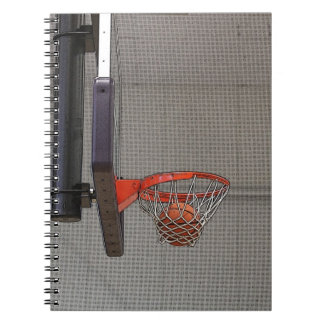 Basketball in the Net Note Book