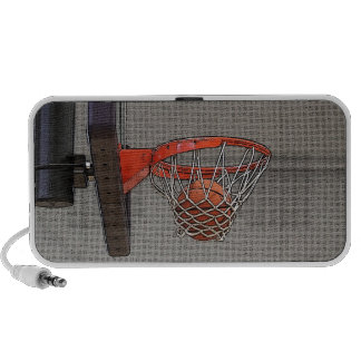 Basketball in the Net Travelling Speaker