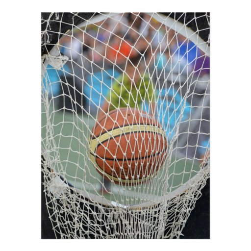 Basketball Custom Announcement
