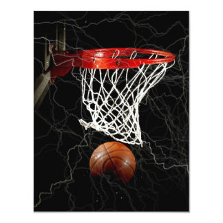 Basketball Invitations Announcements