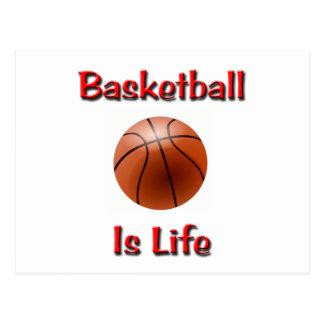 Basketball Is Life Postcard